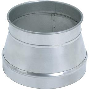 """12.125"""" x 10"""" Industrial Dust Collection Reducer"""