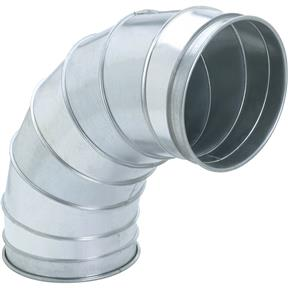 """12"""" 90 Deg Industrial Dust Collection Elbow 1.5"""
