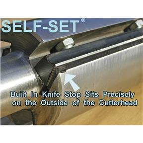 "Self-Set System for G1021, G0550, G0551 3 Knife 15"" Planers"
