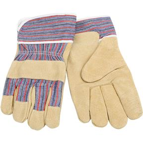 Golden Pigskin Gloves, Large
