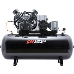 10 HP 120-Gallon Horizontal Air Compressor