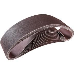 """4"""" x 36"""" A/O Sanding Belt 80 Grit, 10 pk."""