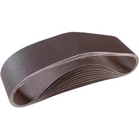 """4"""" x 36"""" A/O Sanding Belt 120 Grit, 10 pk."""