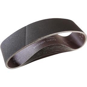 """4"""" x 36"""" A/O Sanding Belt 180 Grit, 10 pk."""