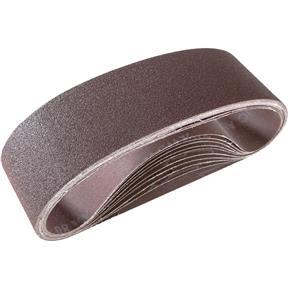 """3"""" x 24"""" A/O Sanding Belt 80 Grit, 10 pk."""