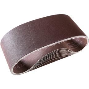 """4"""" x 24"""" A/O Sanding Belt 180 Grit, 10 pk."""