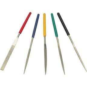 5 pc. Dipped Mini Diamond Needle Files