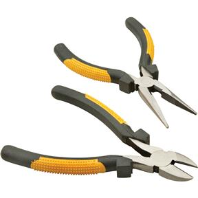 "2-Pc. 6"" Plier Set, Long Nose and Diagonal"
