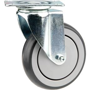 "5"" Flat Top Swivel Caster"