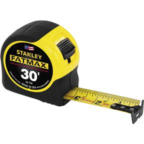30' Tape Measure with BladeArmor Coating