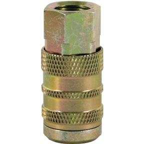 "Industrial 1/4"" Series Coupler - 1/4"" NTP Female"
