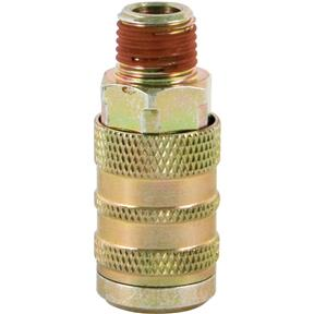 "Industrial 1/4"" Series Coupler - 1/4"" NTP Male"