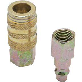 "Industrial 1/4"" Series Hose Coupler Kit, 1/4"" NPT"