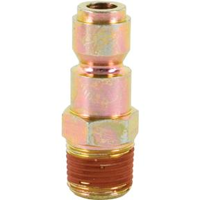 "Automotive 3/8"" Series Plug - 3/8"" NPT Male"