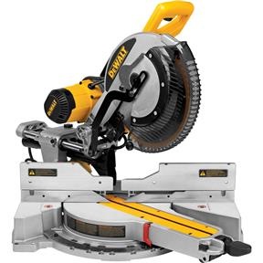 """12"""" Double-Bevel Sliding Compound Miter Saw w/ Free Rolling Stand"""