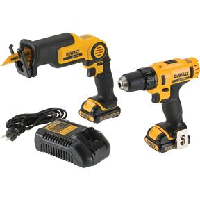 12V Max Drill/Driver/Reciprocating Saw Combo Kit