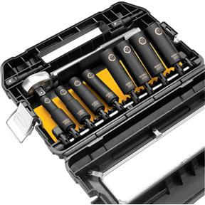 "1/2"" Drive Air Impact, Ratchet and Socket Set"