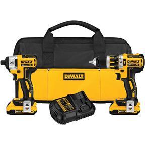 20V MAX Brushless Hammer Drill Impact Combo Kit