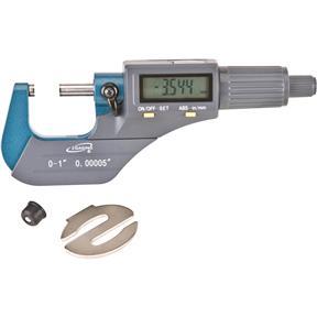 """0-1"""" Digital Micrometer, Inch/Metric"""