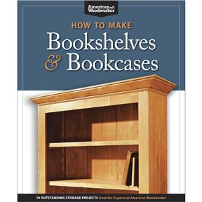 How to Make Bookshelves and Bookcases - Book