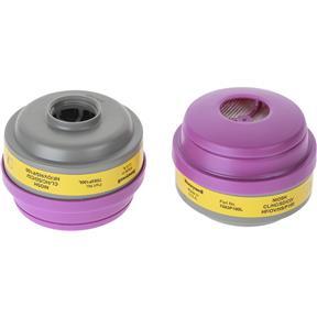 Organic Vapor and Acid Gas with P100 Cartridge, pair