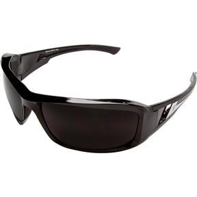 Brazeau Safety Glasses, Black/Smoke