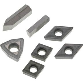 YG6X TiN Insert Set (7) for T10293 - Aluminum