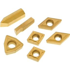 P10 TiN Insert Set (7) for T10294 - Machined Steel