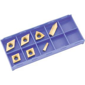 P10 TiN Insert Set (7) for T10295 - Machined Steel