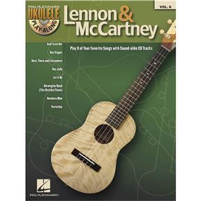 Ukulele Play-Along Volume 6, Lennon & Mccartney - Book