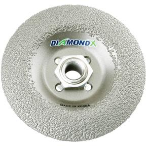 "4-1/2"" Diamond X Depressed Center Wheel Type 29 5/8""-11 Bore"