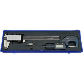 """6"""" Digital Caliper with 1"""" Digital Micrometer Set"""
