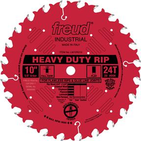 "10"" x 5/8"" 24t FTG .126 Ripping Saw Blade"