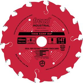 160mm x 20mm 14t ATB .098 Glue Line Saw Blade