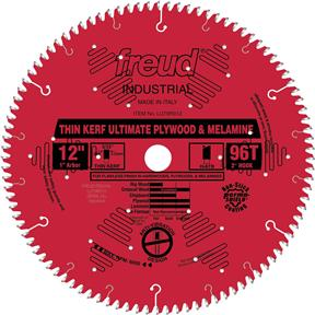 "12"" x 1"" 96t Hi-ATB .098 Plywood Saw Blade"