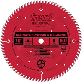 "10"" x 5/8"" 80t Hi-ATB .126 Plywood Saw Blade"