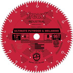 "12"" x 1"" 96t Hi-ATB .126 Plywood Saw Blade"