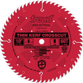 "10"" x 5/8"" 60t ATB .090 Cross-Cut Saw Blade"