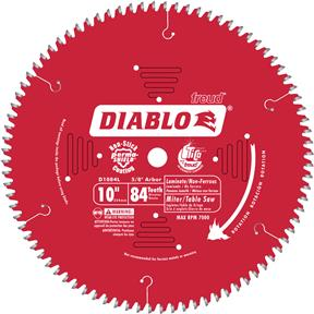"10"" x 5/8"" 84t TCG .098 Laminate Flooring Saw Blade"
