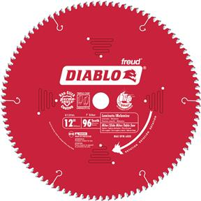 "12"" x 1"" 96t TCG .091 Laminate Flooring Saw Blade"