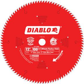 "12"" x 1"" 100t ASFG .098 Finishing Saw Saw Blade"