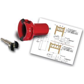 "1-1/2"" Home Series Log Tenon Cutter Beginners Kit, 1 pc."