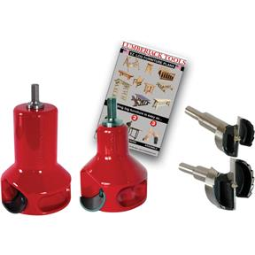 "1"" and 2"" Home Series Log Tenon Cutter Starter Kit, 2 pc."