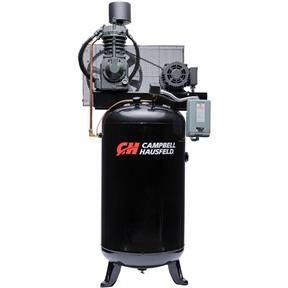 7.5 HP Vertical Two Stage 80 Gallon Air Compressor