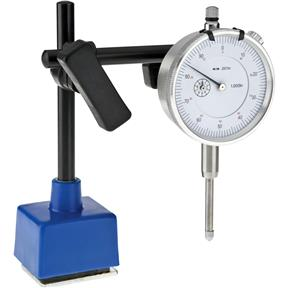 "1"" Dial Indicator and Small Magnetic Base"