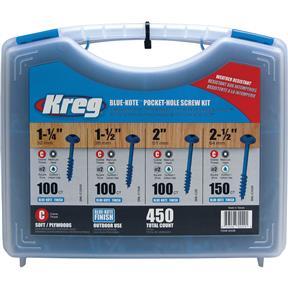 Blue-Kote Pocket-Hole Screw Kit