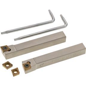 "5/16"" 95 Deg Facing Tool with Carbide Insert, 4 pc."