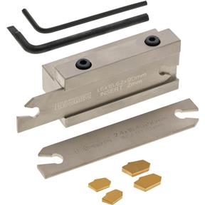"""5/8"""" Indexable Parting Tool Set"""