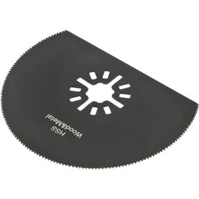 "3-1/8"" HSS Segment Saw Blade for Oscillating Multi-Tools"