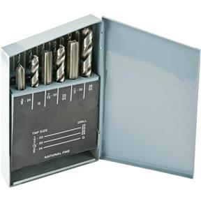 18-Pc. UNC HSS Tap & Drill Set